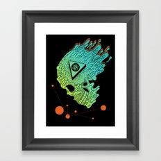 Child of Atom Framed Art Print