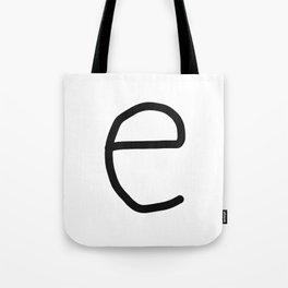 e LOVE Tote Bag
