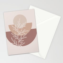 Half Circles Neutral Stationery Cards