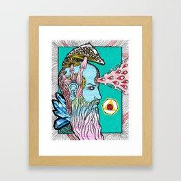 The Alchemist's Brainfart Framed Art Print