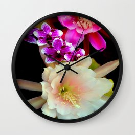 Pinkish, Pinker, And Far Out Pink Wall Clock