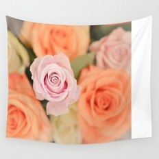 Summer Roses Wall Tapestry
