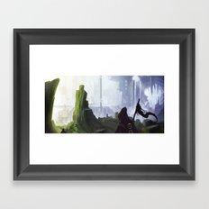 Plains of Horrath Framed Art Print