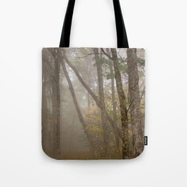 Misty Spruce Knob Forest Tote Bag