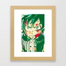 Deku Framed Art Print