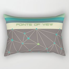 Points of view Rectangular Pillow