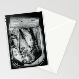 Tin of Sardines Stationery Cards