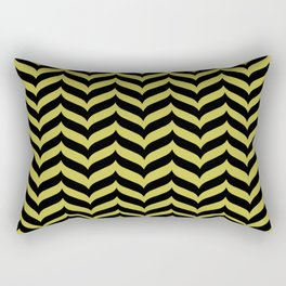 Spike ll (gold) Rectangular Pillow