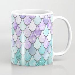 Mermaid Pastel Pink Purple Aqua Teal Coffee Mug