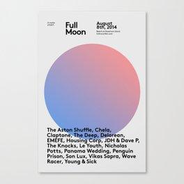 FullMoon Festival - Limited Edition Artwork Canvas Print