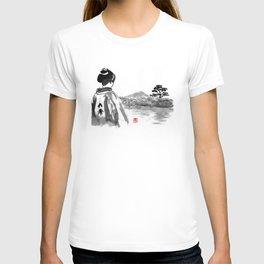 geisha's watching T-shirt