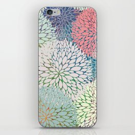 Abstract Floral Petals 3 iPhone Skin