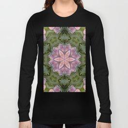 Beautiful fungi kaleidoscope Long Sleeve T-shirt