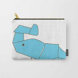 Origami Elephant Carry-All Pouch