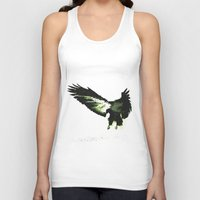 eagle Tank Tops featuring Eagle by Yaroslav Greb