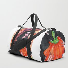Halloween Witch Duffle Bag