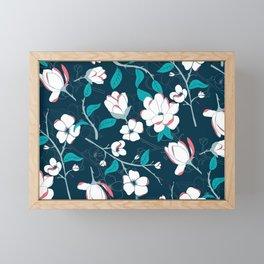 Southern Charm - Manolias Framed Mini Art Print
