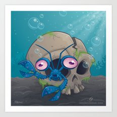 Eye Crustacea Art Print