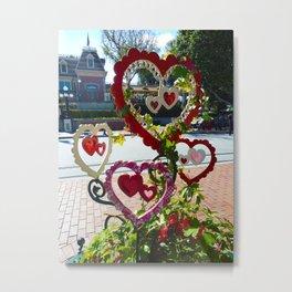Lovers' Circle Metal Print