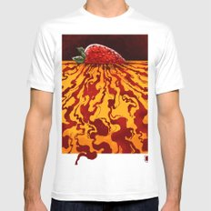 Sweet Nothing Mens Fitted Tee White MEDIUM