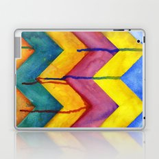 Watercolor Chevron Laptop & iPad Skin