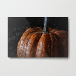 Collapsing Metal Print