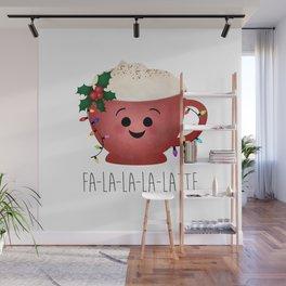 Fa-la-la-la-latte Wall Mural