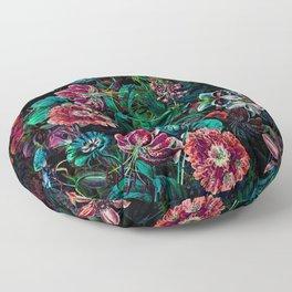 EXOTIC GARDEN - NIGHT IX Floor Pillow