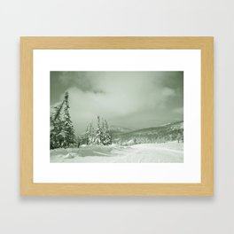 Winter day3 Framed Art Print