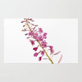 Flowers of fireweed Rug