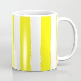 Hamptons Collection (Bright Yellow & White) Coffee Mug
