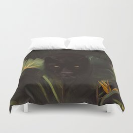 Hello Panther! Duvet Cover