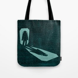 A door through space Tote Bag