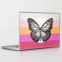 eric fan Laptop & iPad Skins featuring Flight - by Eric Fan and Garima Dhawan  by Eric Fan