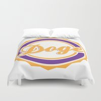 doge Duvet Covers featuring Doge by Tasha-Nova