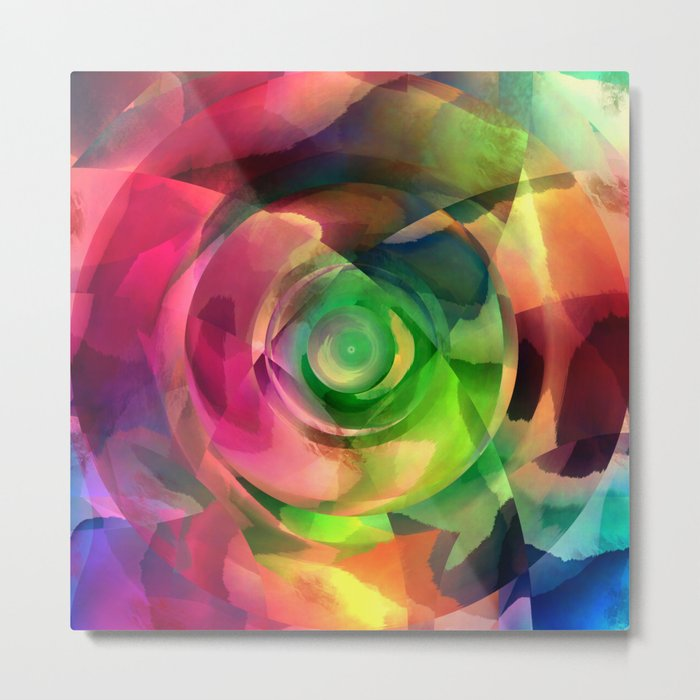 Multicolored abstract no. 14 Metal Print