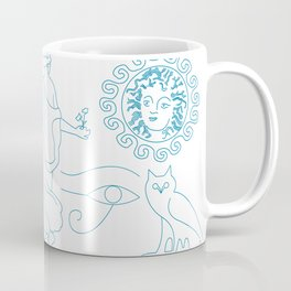 Symbolic art of mythology and folklore Coffee Mug