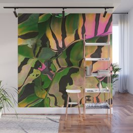 Vegetarian Zebra Wall Mural