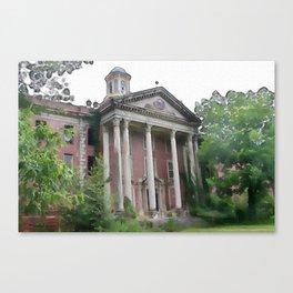 Jones Building - Central State Hospital Canvas Print
