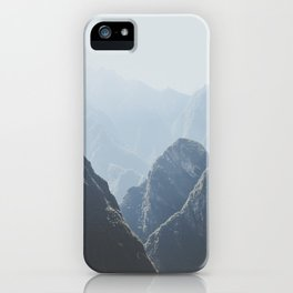 Mountains around Machu Picchu iPhone Case
