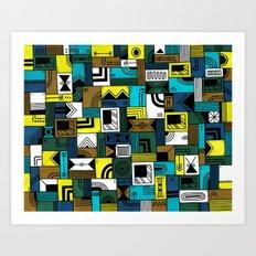 Napkin Darts Art Print