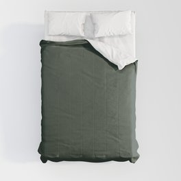 Sherwin Williams Trending Colors of 2019 Dark Hunter Green SW 0041 Solid Color Comforters