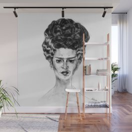 Frida Frankenstein Wall Mural