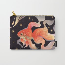 Goldfish Susane night sky Carry-All Pouch