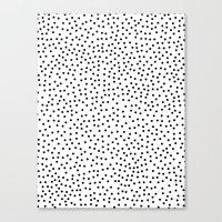 dots Canvas Prints featuring Dots.. by Priscila Peress