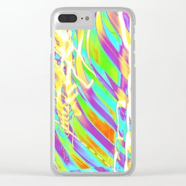 Light Dance Candy Ribs edit1 Clear iPhone Case