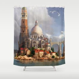 HyBrasil Shower Curtain