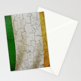 Vintage Ireland flag Stationery Cards