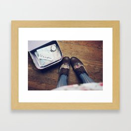 Let's Explore! Framed Art Print