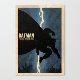 Return of the Bat Canvas Print